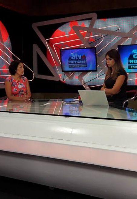 Escuela de Gobierno, Patricia Balbuena en ATV + Noticias